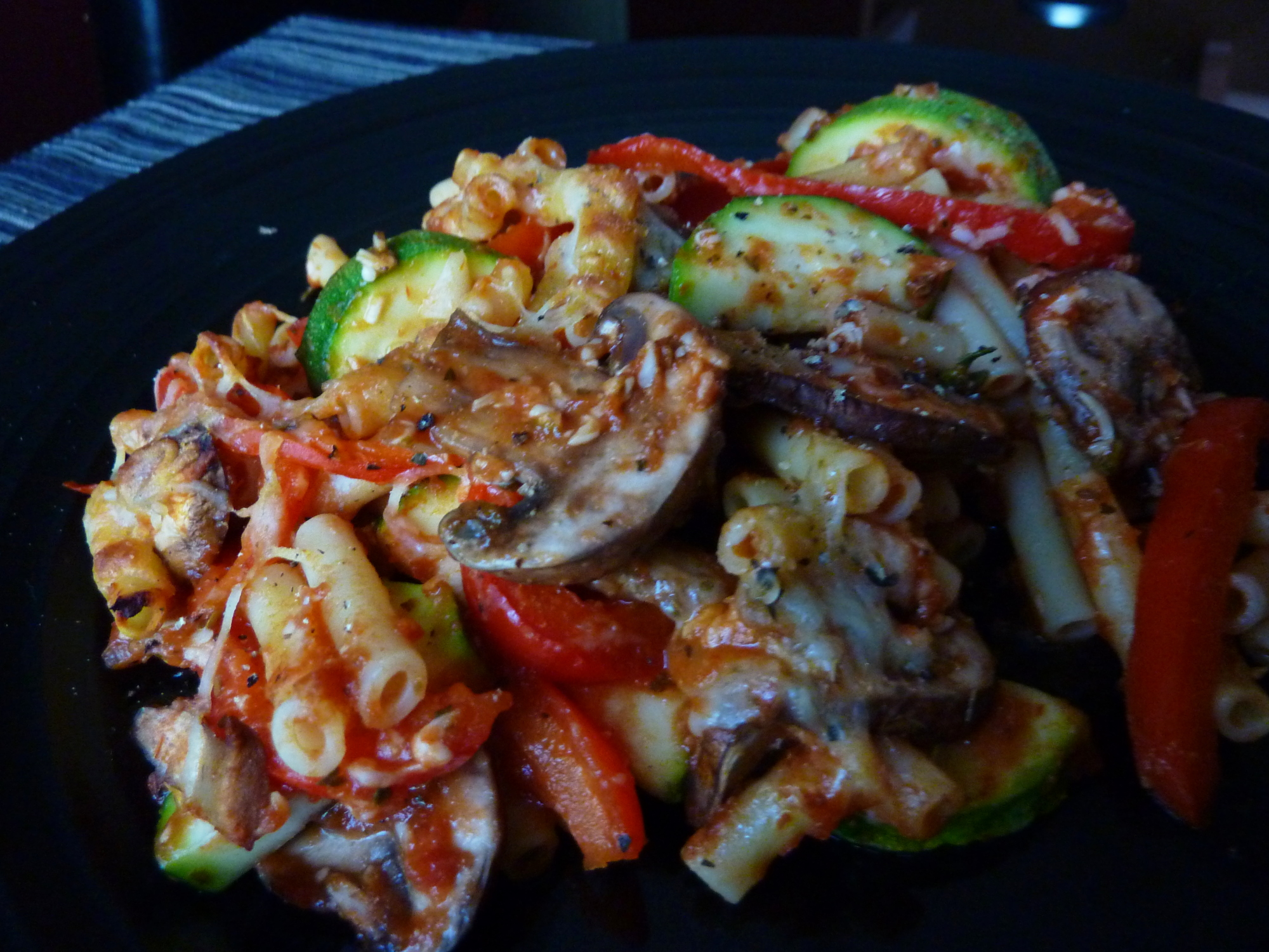 This dish, Tuscan Vegetable Baked Ziti from kraftfoods.com was good ...