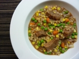Crock Pot Meals – Minestrone Soup and Beef-BarleyStew