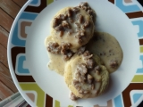 Foodgasmic Biscuits and Sausage Gravy