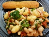 Gnocchi with White Beans, Tomatoes, and Spinach