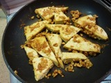 Vegetarian Week – Day #1: Peanut-Crusted Tofu Triangles