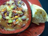 Vegetarian Week – Day #2: Pasta Bean Soup (plus some rants +snarks)