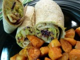 Vegetarian Week – Day #3: Creamy Avocado & White Bean Wraps
