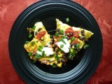 Vegetarian Week – Day #5: Black Bean Taco Pizza