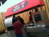 San Street Cart; Chipotle Black Bean Chili