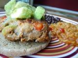 Fajita Turkey Burgers