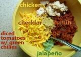 Taco Chicken Wraps + ShoppingSpree