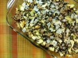 Wild Rice, Apple, and Sausage Stuffing