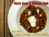 Black Bean and Chorizo Chili