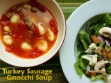 Turkey-Sausage Gnocchi Soup