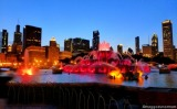 Chicago Getaway–Day 3: Pizano's Pizza & Buckingham Fountain