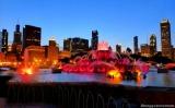 Chicago Getaway–Day 3: Pizano's Pizza & BuckinghamFountain