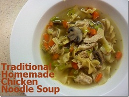 5 homemade chicken noodle