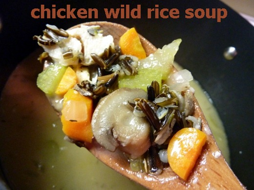 6 chicken wild rice soup