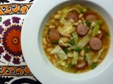 Hearty Cannellini & SausageSoup