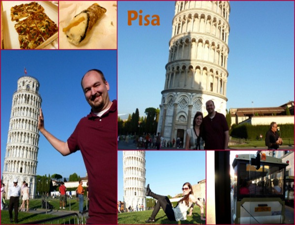 florence Blog Day 4 Part 2 -  Pisa