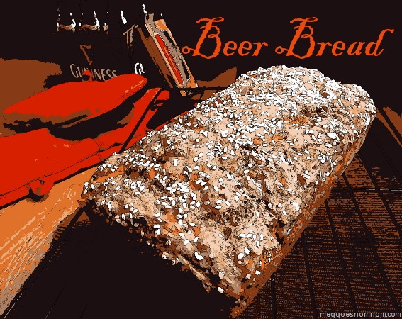 Last Week I Caught An Episode Of Good Eats In Which Alton Brown Was Making Beer Bread And It Just Looked So Dang Easy That I Decided I Absolutely Must Try