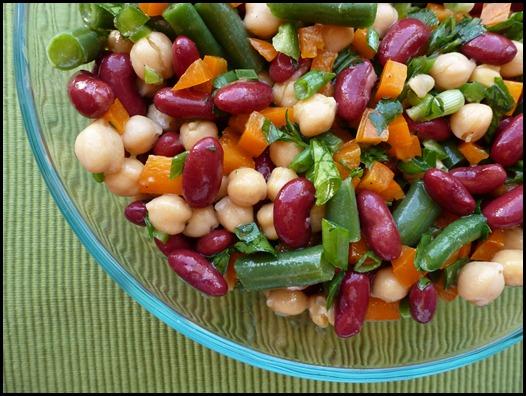 Speedy Three-Bean Salad from OSG | Meg Goes Nom Nom
