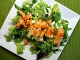 Buffalo Chicken Salad with Blue CheeseDressing