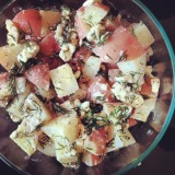 Dilled Potato Salad with Feta