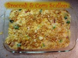 Broccoli & CornScallop