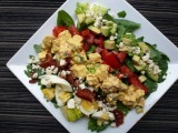 Cobb Salad with Avocado Dressing