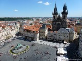 Europe 2013: Day 4, Part I-Prague's Old TownSquare