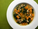 Sweet Potato, Sausage, and Kale Soup