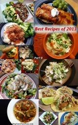 Top Dinner Entrée Recipes of 2013–PartII