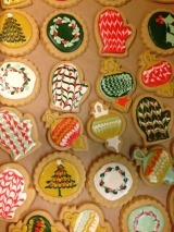 Holiday Cookies Class at Sweet HeatherAnne