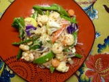 Sweet & Spicy Shrimp with RiceNoodles