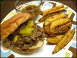 Tangy Italian Beef Sandwiches