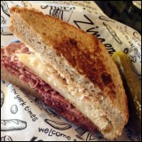 Kerrytown Noms: Zingerman's Reuben and Monahan's Fish and Chips
