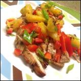 Jerk Chicken with Grilled PineappleSalsa