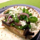 Grilled Portobello Mushroom Tacos with QuesoFresco