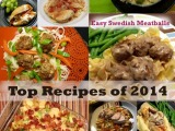Top Dinner Entrée Recipes of 2014–Part I