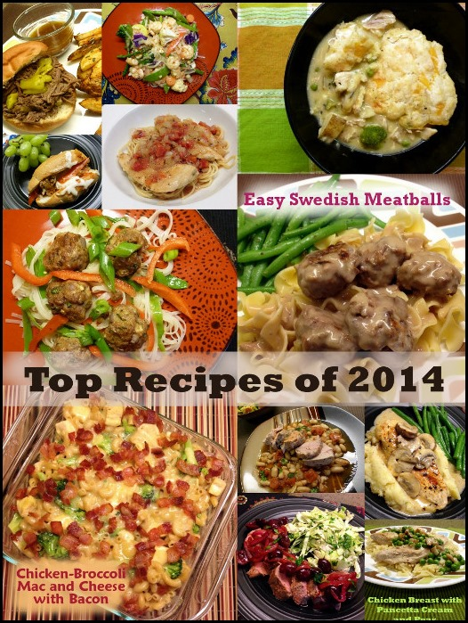 Favorite Recipes of the 2014 Pics