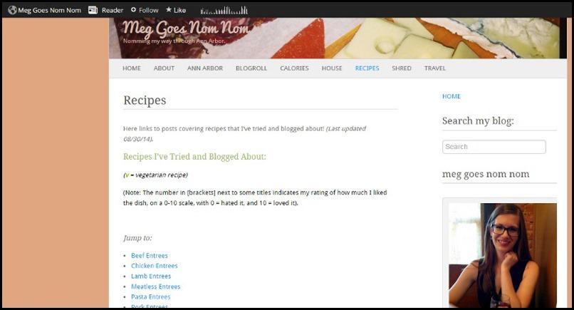 screen shot recipes